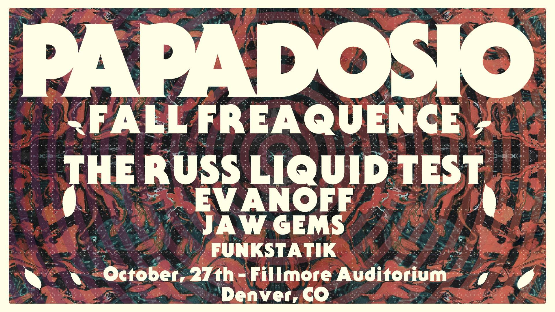 Papadosio's 'Fall Freaquence' – Concert Preview