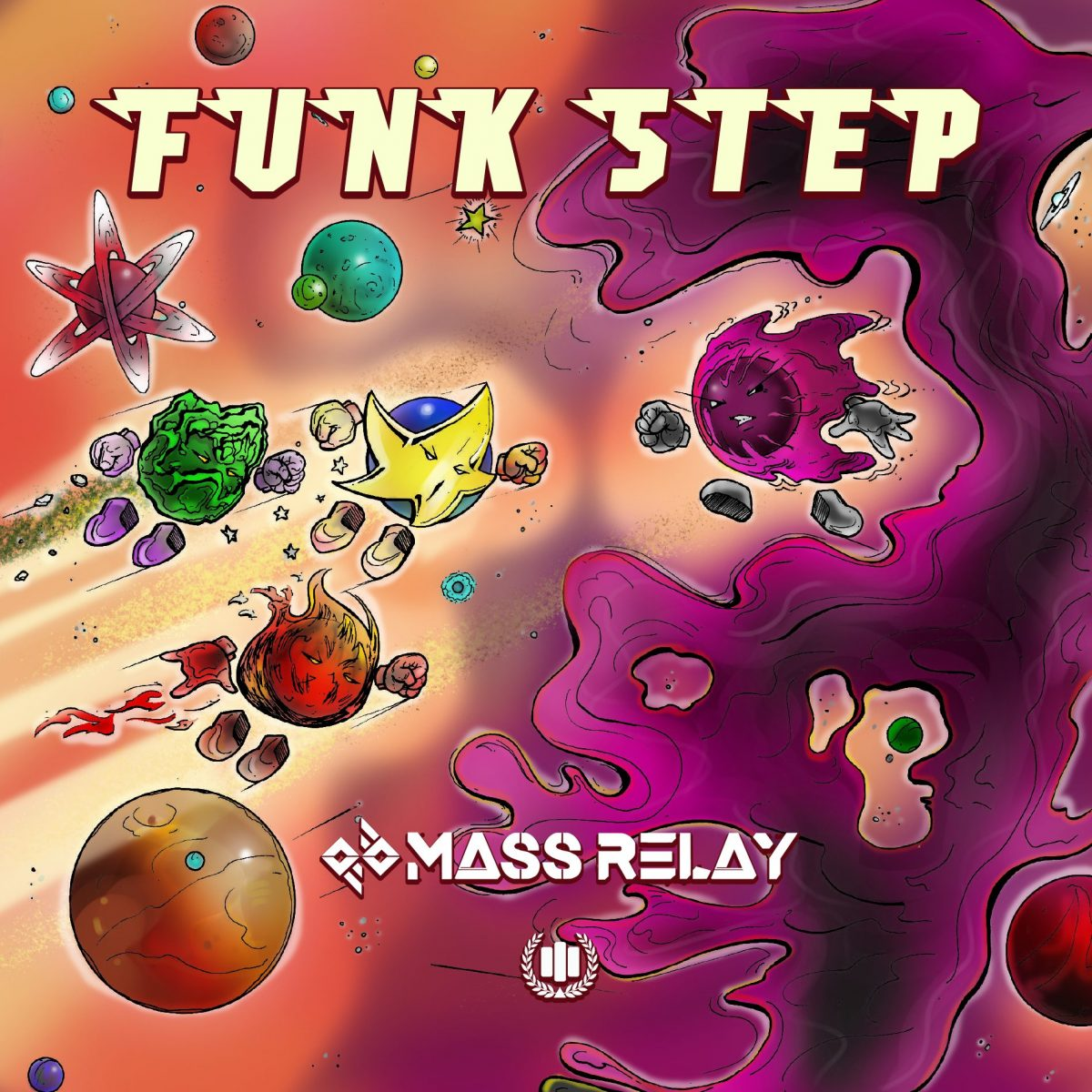 Mass Relay Releases FUNKSTEP (EP) on MHSM Records