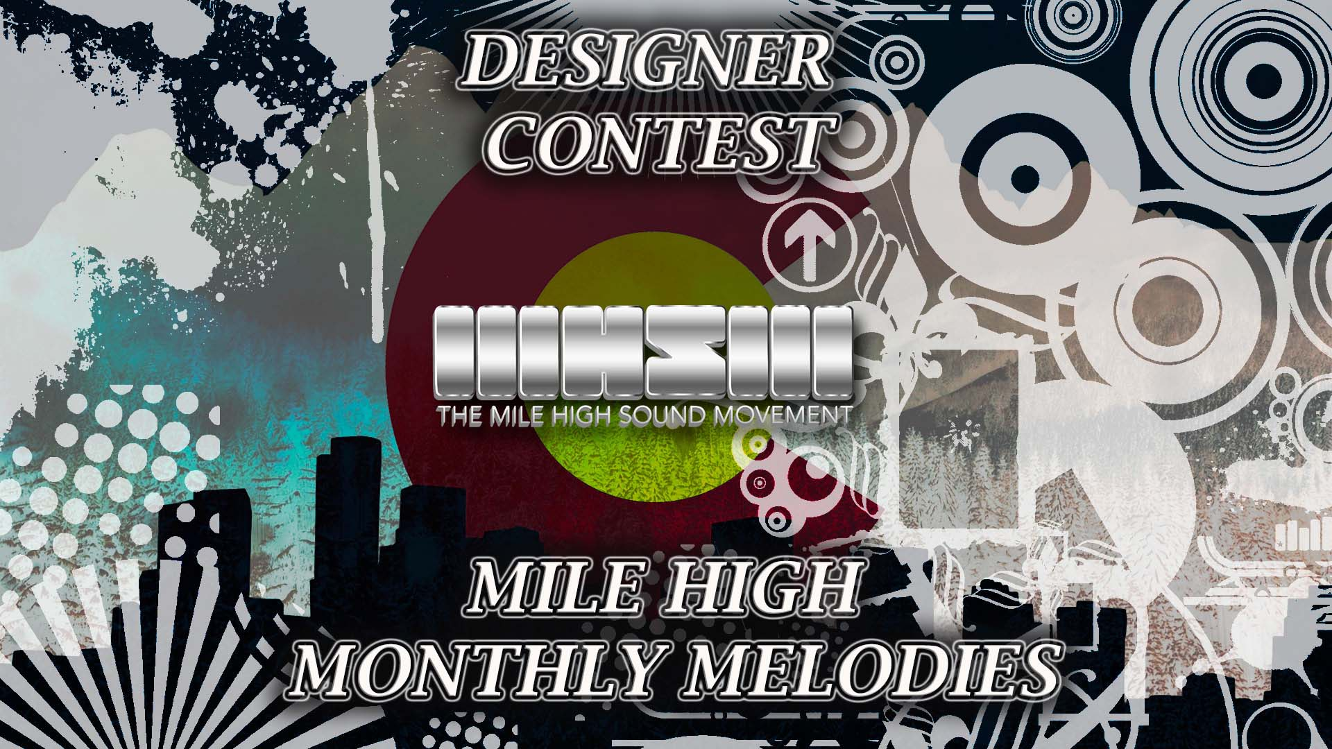 Graphic Designer Contest For Mile High Monthly Melodies